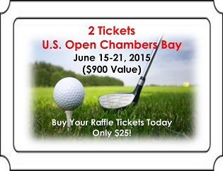 Buy Your Raffle Tickets: 2 Tickets to the U.S. Open at Chambers Bay
