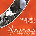 Celebrating 75 years. Easterseals Massachusetts.