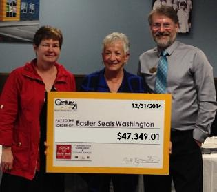 Century 21 North Homes Realty Breaks all Fundraising Records in 2014!