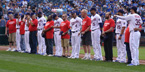 Veterans being honored by the KC Royals