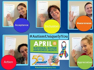 Autism Awareness Month: AutismUniquelyYOU - Celebrating the Uniqueness in Us All