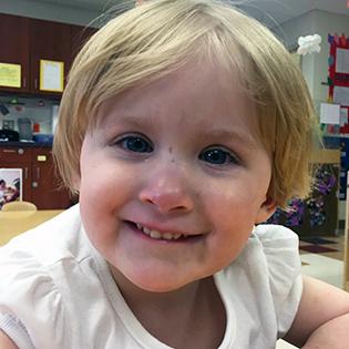 Olivia Makes Strides at Jane's House Child Development Center