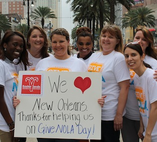 Join us for GiveNOLA / Give For Good Day!