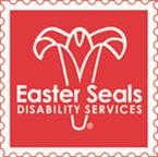 Red Easter Seals Shadow Logo