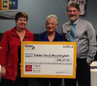 Thank you Century 21 North Homes Realty, Inc. for helping us raise over $38,000 so far this year!