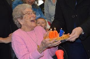 Cecilia Turns 100