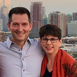 Steve Herrup and Susan Mordigal