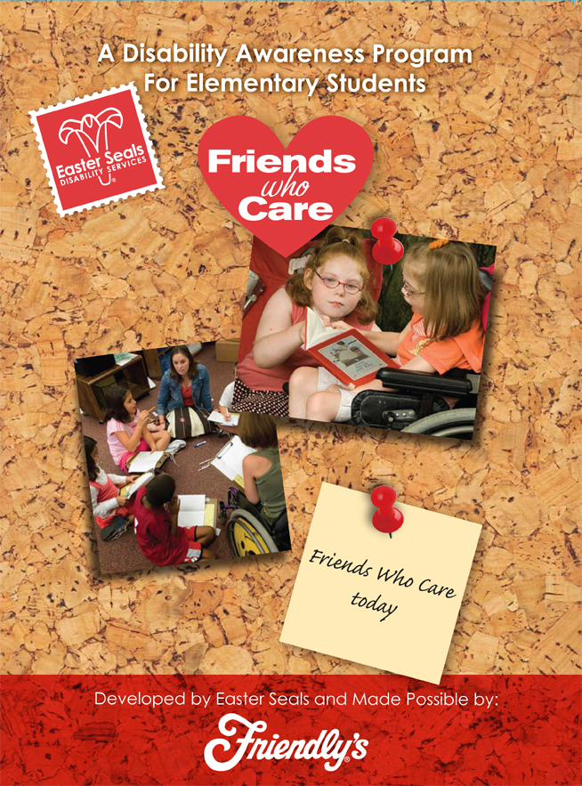 Friends Who Care folder cover