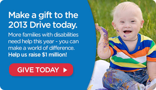 Make a gift to the 2013 Drive by March 31!