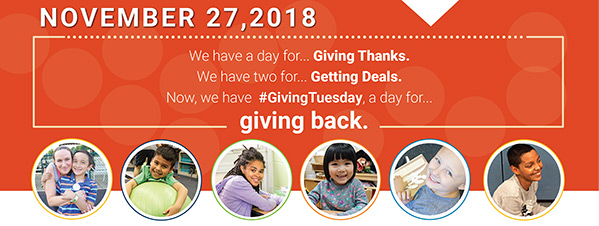 Giving Tuesday 2018 Email Banner