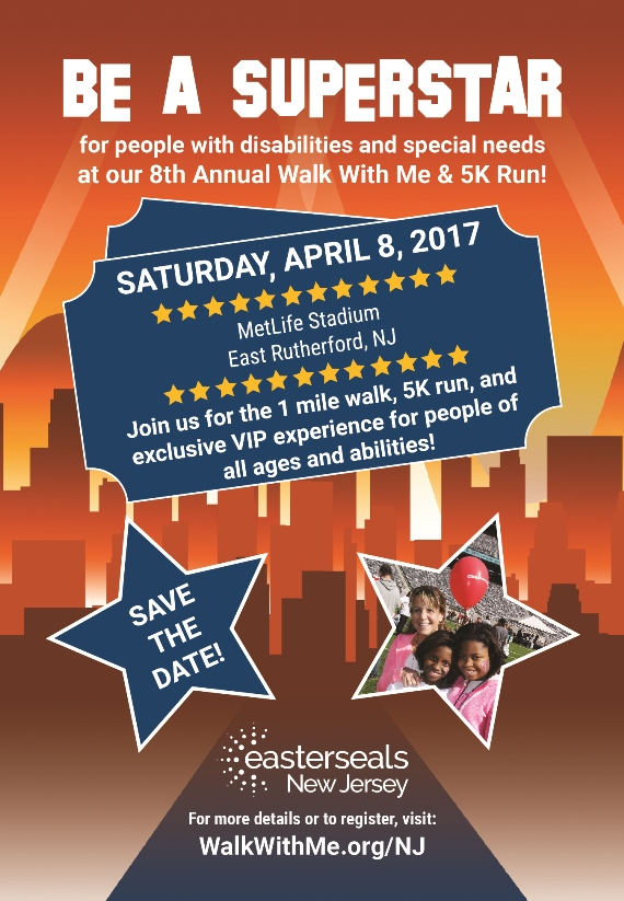 Walk With Me Save the Date 2017