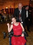 Amy Liss dancing with her Father, Tom Liss